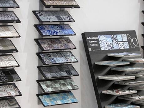 carrelage faience showroom brest queguiner materiaux