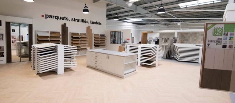 parquets stratifies lambris showroom rennes queguiner materiaux