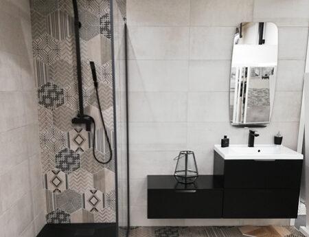 salle de bain douche showroom brest queguiner materiaux