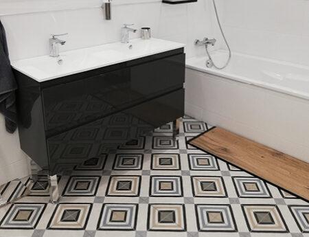 salle de bain meuble et baignoire showroom brest queguiner materiaux