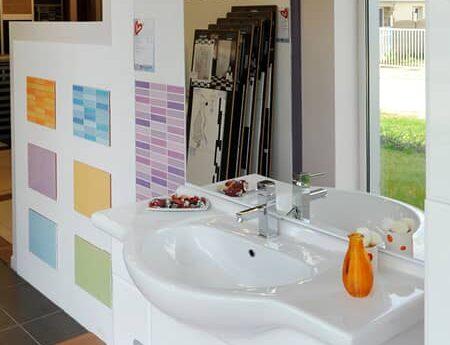 salle de bain showroom paimpol queguiner materiaux