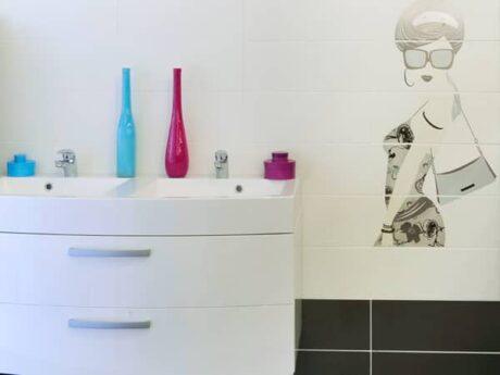 meuble vasque showroom paimpol queguiner materiaux