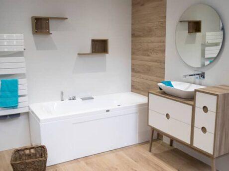 salle de bain showroom rennes queguiner materiaux