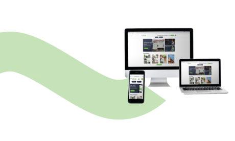 lancement nouveau site internet